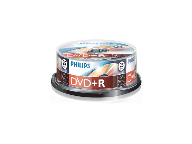 Philips DVD+R Philips 4.7GB JC printable/sp25