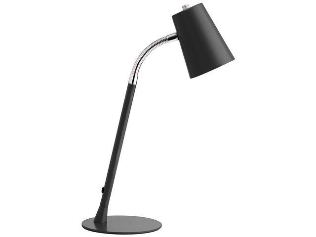 Unilux Bureaulamp Unilux led Flexio zwart