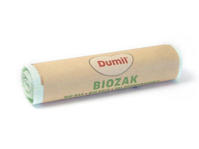 Afvalzak bio 88x134cm 140L groen (doos 14 x 3 stuks)