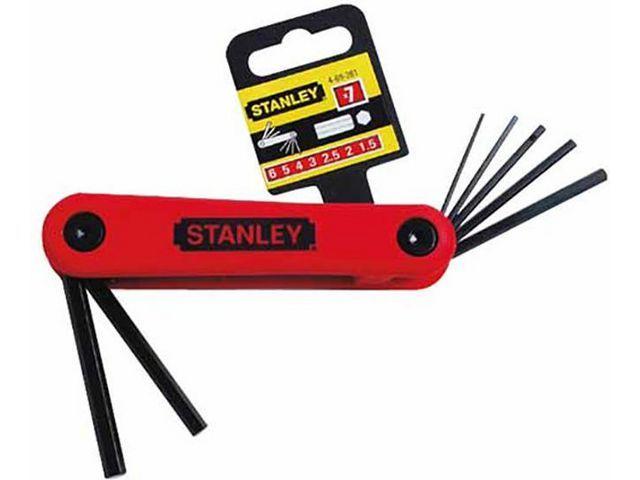 STANLEY Inbusset 7-dlg 2.5-10mm