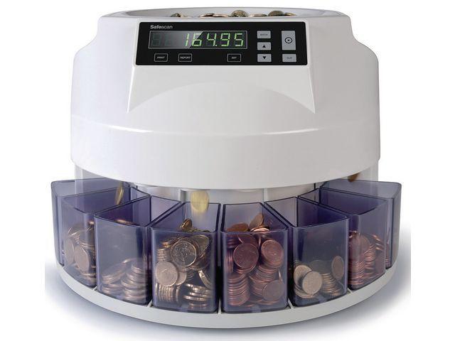 Safescan Muntenteller Safescan 1250 wit