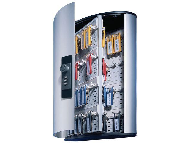 Durable Sleutelkast Durable 72 sleutels zilver