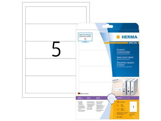 Herma Insteekrugetiket ILC 190x54/pk 125