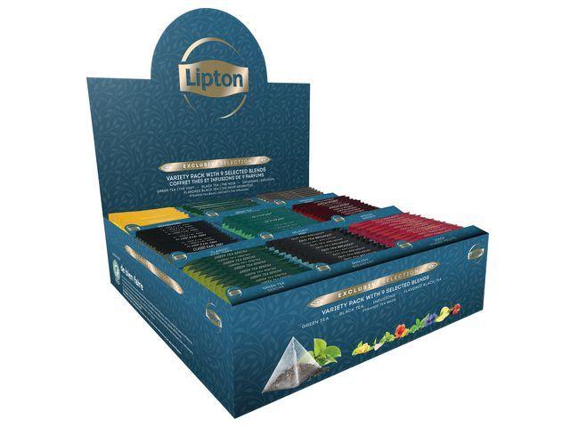 Lipton Theebox Lipton Exclusive Variety pk9x12