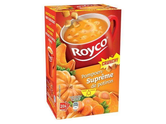 Royco Minute soup Royco supr pompoen 200ml/20