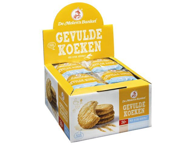 Gevulde koek De Molen 50gr/ds30