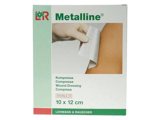 Metalline Kompres Metalline 10x12cm /pk10
