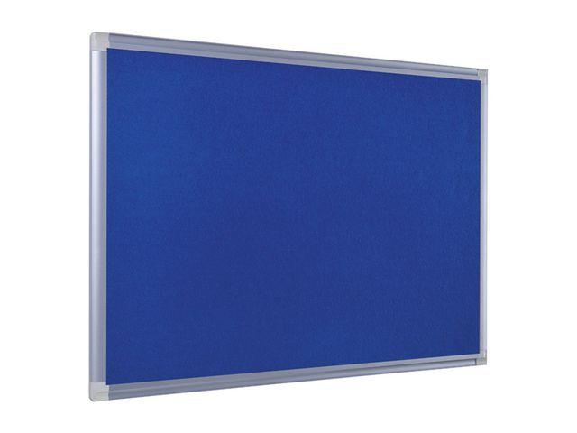 Bi-Office Prikbord Bi-Office 120x90 vilt blauw