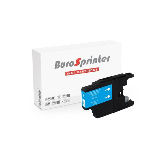Brother Brother LC-1280XLC ink cyan 15ml (BuroSprinter)