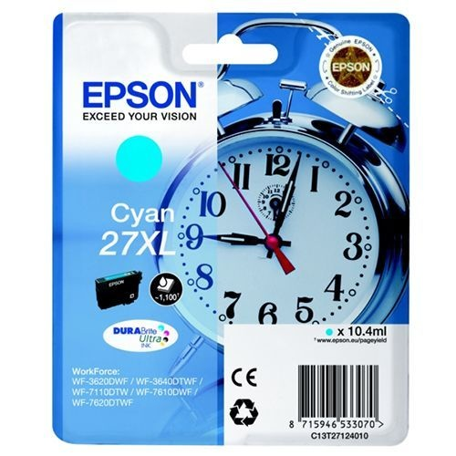 Epson Epson 27XL (C13T27124010) ink cyan 1100 pages (original)
