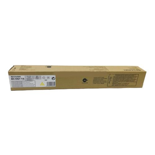 Sharp Sharp MX-61GTYA toner yellow 24000 pages (original)