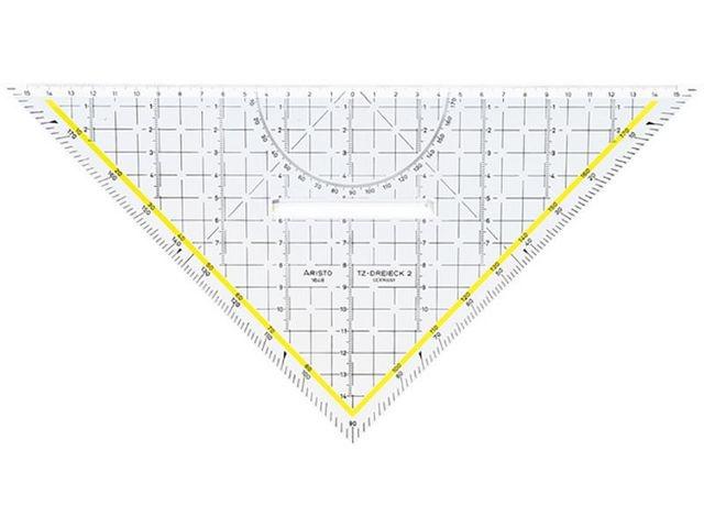 ARISTO Driehoek Arist met grip 32.5cm AR1648/2