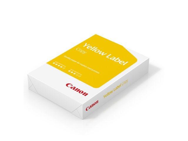 Canon Papier Canon A4 Yellow Label 80g/ds5x500