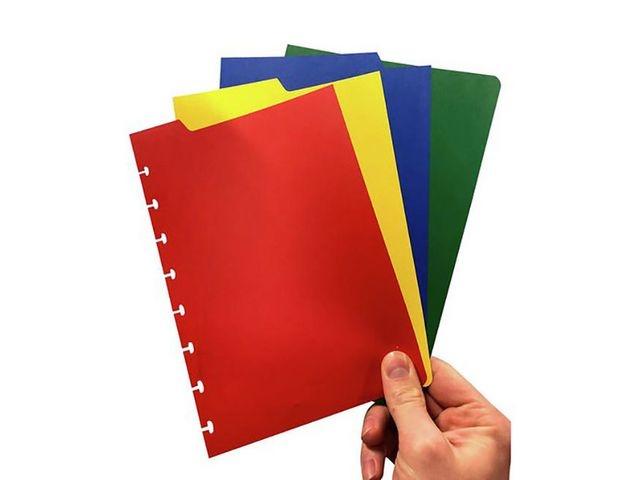 CORRECTBOOK Tabblad Correctbook A5 ass/set4