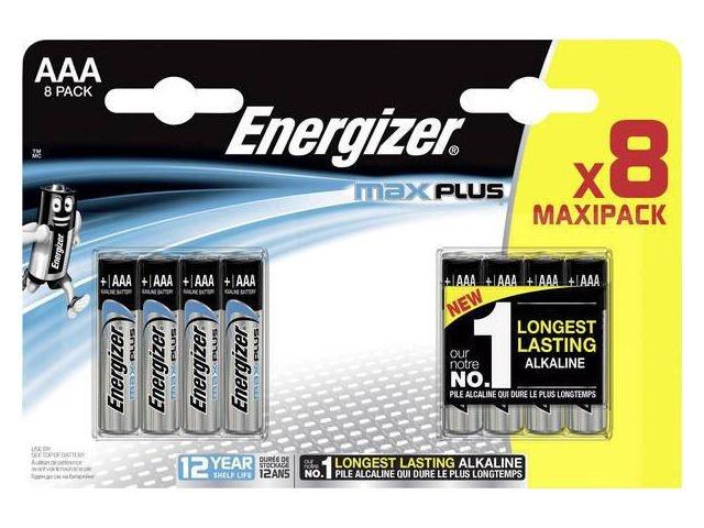 Energizer Batterij Energizer Max Plus AAA/pk8