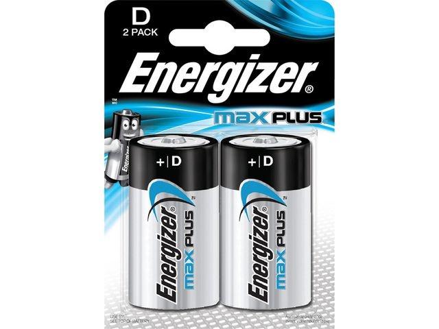 Energizer Batterij Energizer Max Plus D/bs2