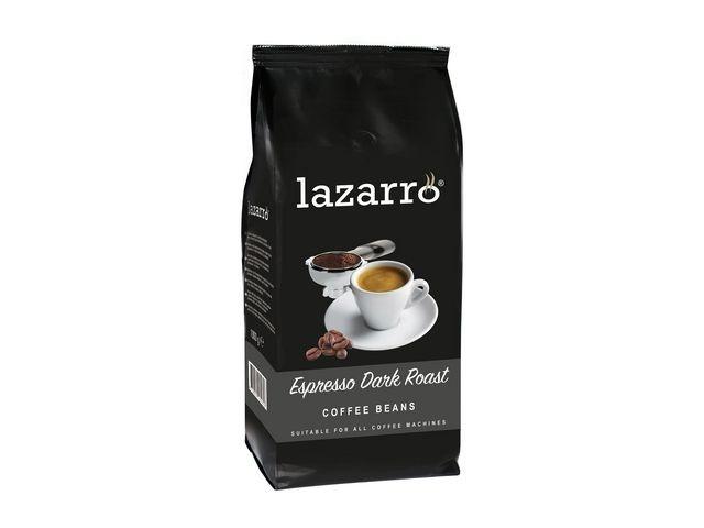 LAZARRO Koffiebonen Lazarro Dark Roast 1000gr
