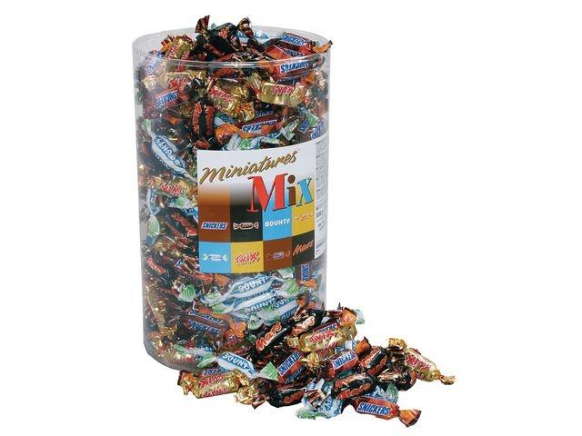 Mars Chocoladereep Mars Mini mixed/ds 3kg