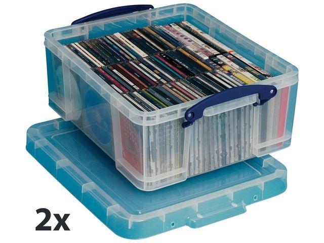 Really Useful Box Opbergbox Rub transparent 18L