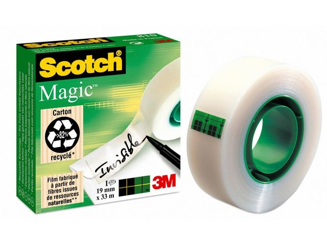 Scotch® Plakband magic Scotch 810 19mmx33m/rol