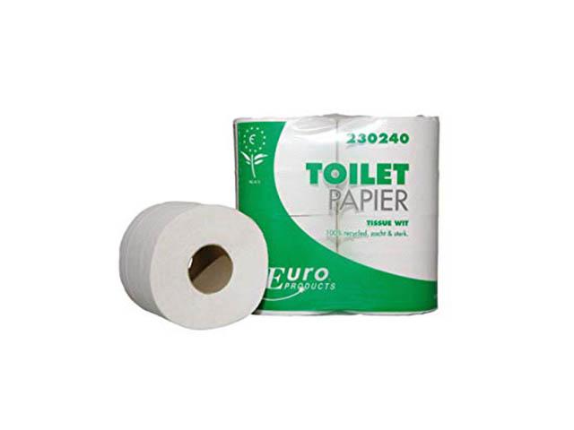 Toiletpapier mini jumbo 2L wit 180m/pk12
