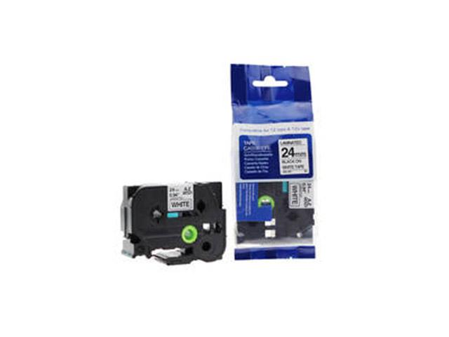 LUCART Tape PT compatibel TZ-251 24mm zwart/wit