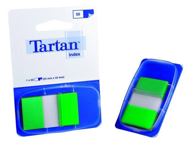 Tartan Index Tartan 25x43 groen/pad 50 stuks