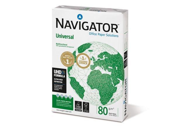 Navigator Papier Navigator A4 80g Univ./pL200x500v