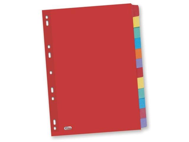 Elba Tabblad ELBA A4 11R kart.kleurentab/se12