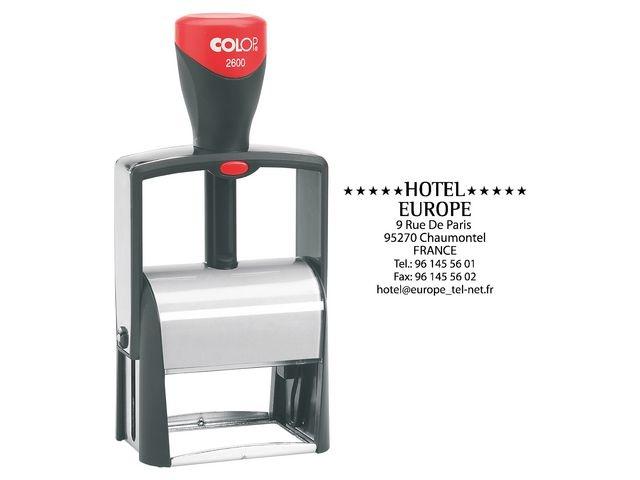 Colop Stempel Colop Classic 2600 58x37mm