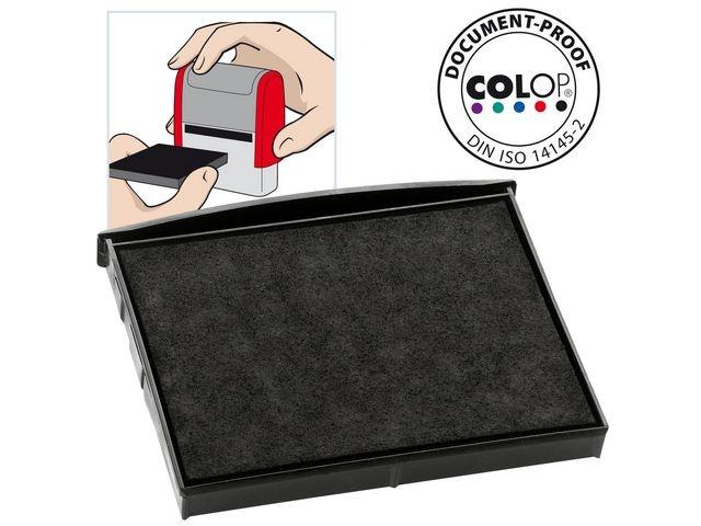 Colop Inktkussen Colop E/2800 zwart/pak 2