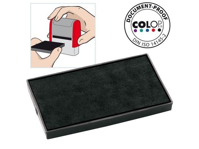 Colop Inktkussen Colop E/60 zwart/pak 2
