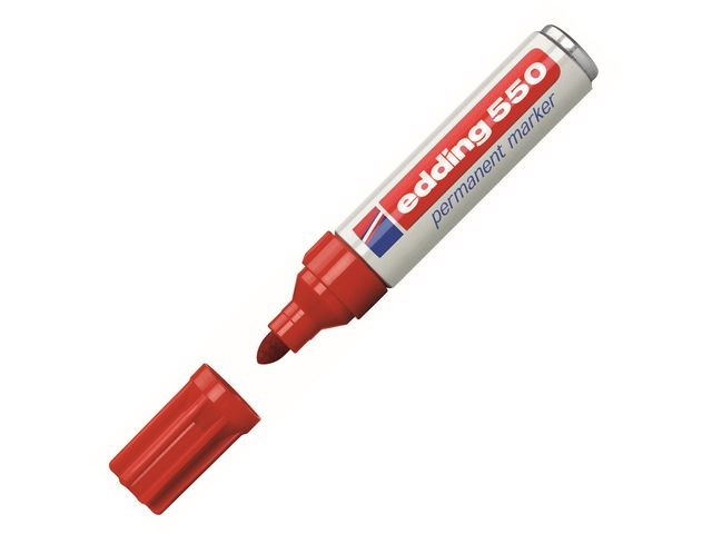 Edding Permanent marker edding 550 3-4mm rd/d10
