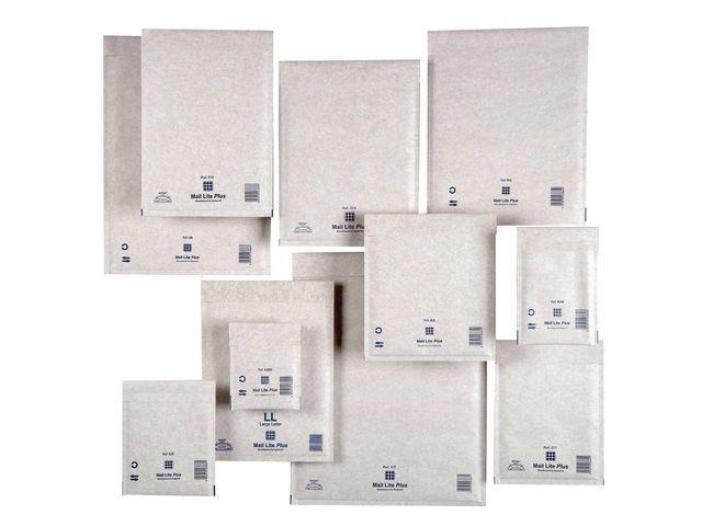 Mail Lite® Luchtkussenenvelop MailLite + H/5 wit/50
