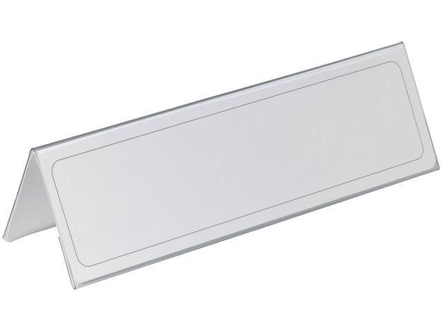 Durable Tafelnaambord Durable 65x210mm