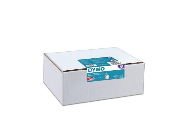 Dymo Etiket Dymo 36x89mm / pk 12 rol