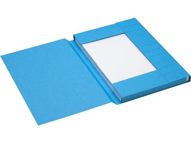 Jalema Stofklepmap Secolor folio blauw/doos 125
