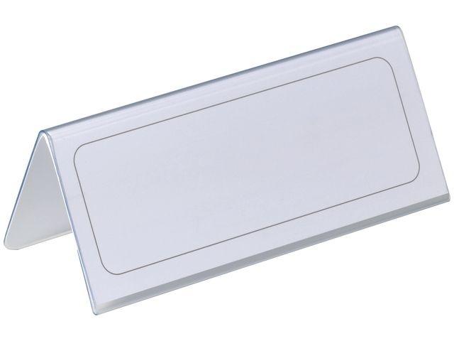 Durable Tafelnaambord Durable 63x150mm