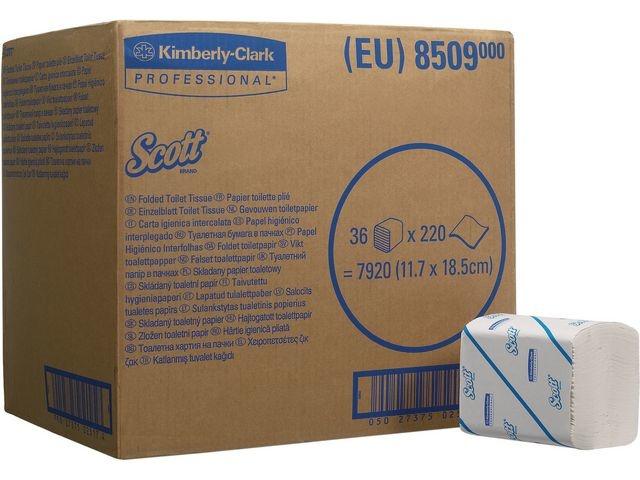 Scott® Toiletpapier Scott bulkpack 2L/ds36x220v