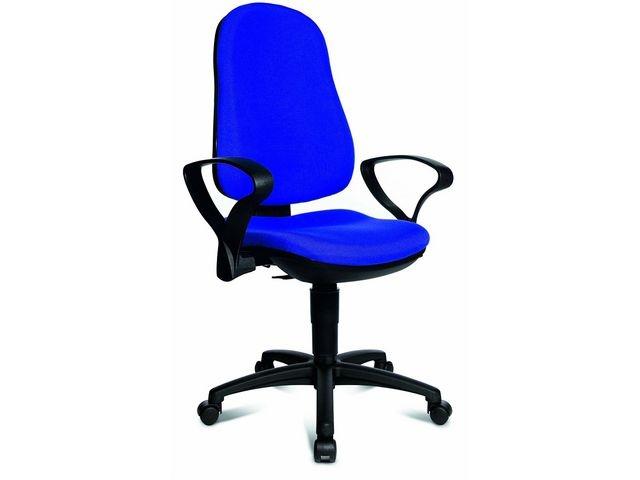TOPSTAR Bureaustoel Support P blauw