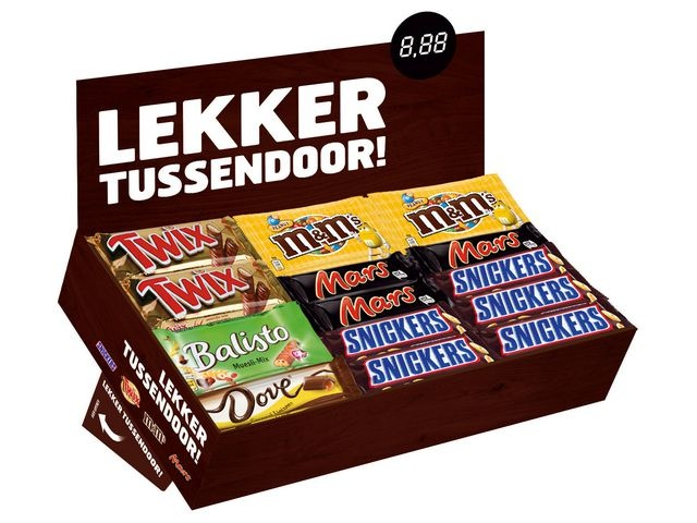 Mars Chocoladereep Mars bestsellersbox/ds49