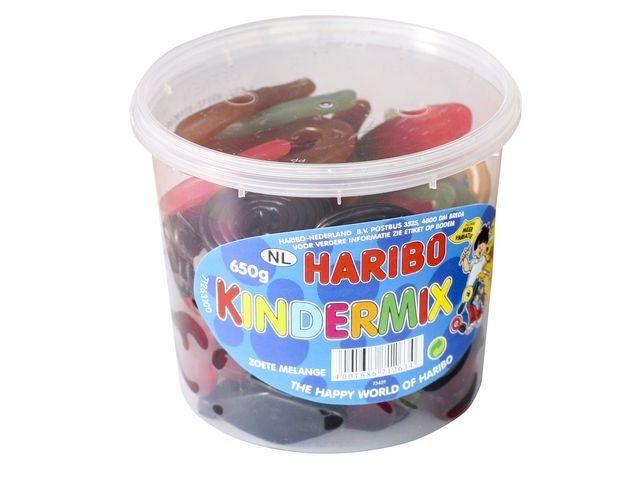 HARIBO Kindermix Haribo/silo 650gr