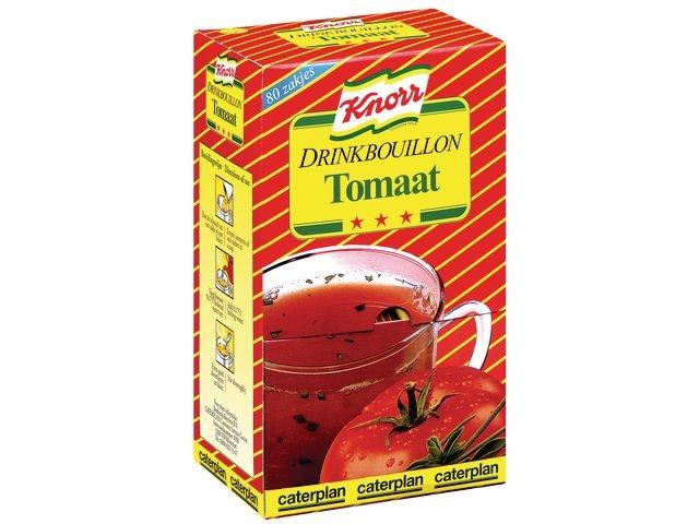 Knorr Drinkbouillon Knorr tomaat/pk 80