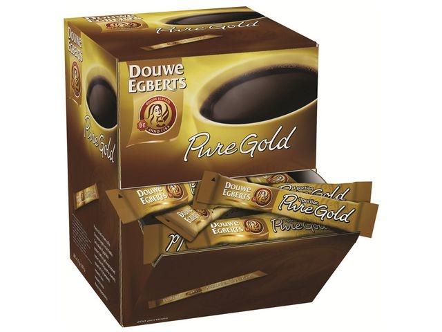 Douwe Egberts Oploskoffie DE pure gold sticks/pk 200