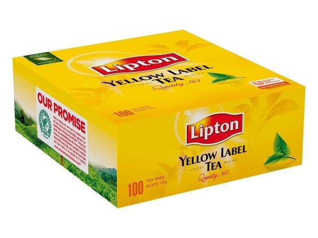 Lipton Thee Lipton FGS yellow label z/env/ds100