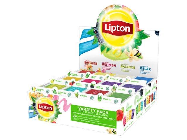 Lipton Thee Lipton FGS Variety pack 12x15