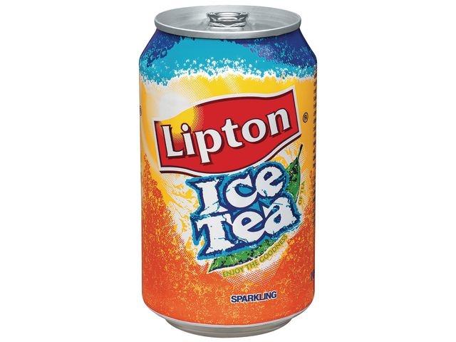 Lipton Frisdrank Lipton ice tea 0.33L blik/pk24