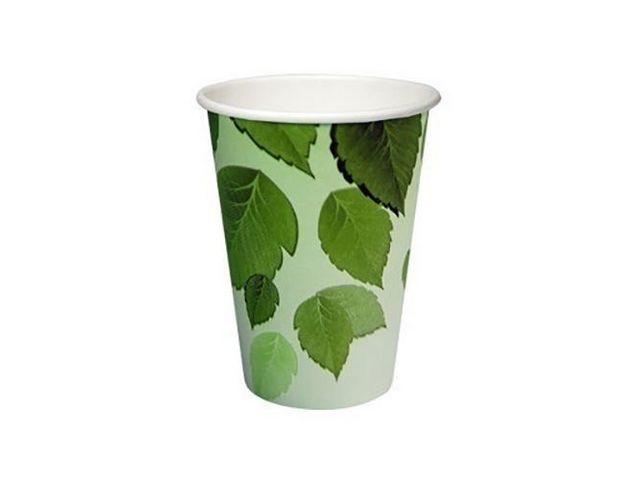 Beker bio PLA 180cc karton groen/ds2500