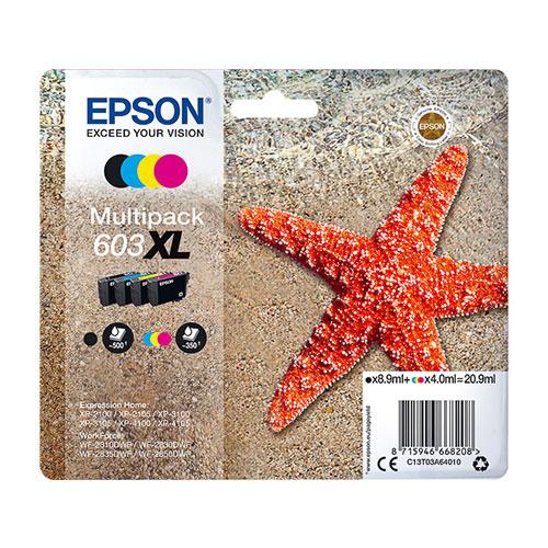 Epson Epson 603XL (C13T03A64010) ink c/m/y/bk 20,9ml (original)