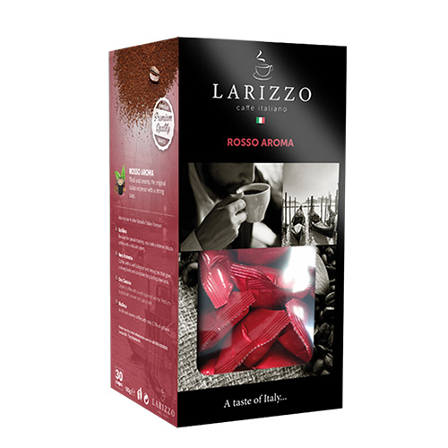 Larizzo Larizzo Rosso Aroma cups 30 pcs